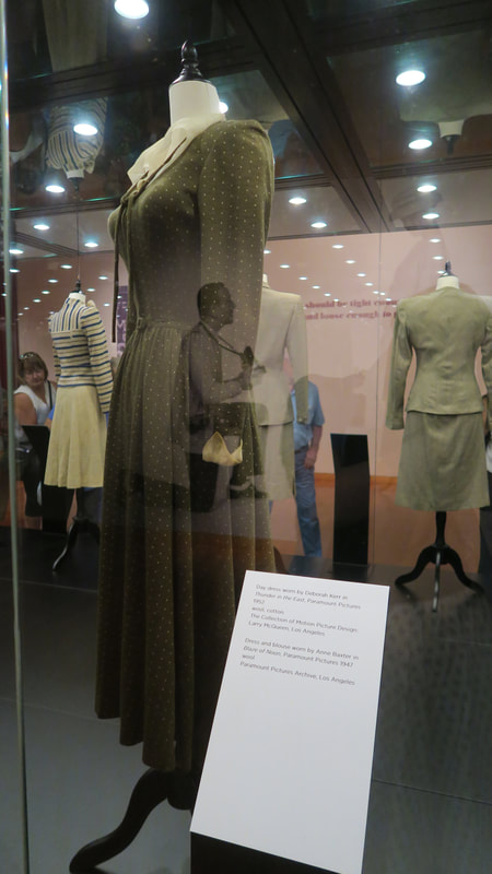 Fred Astaire reflected over a dress from Thunder in the East