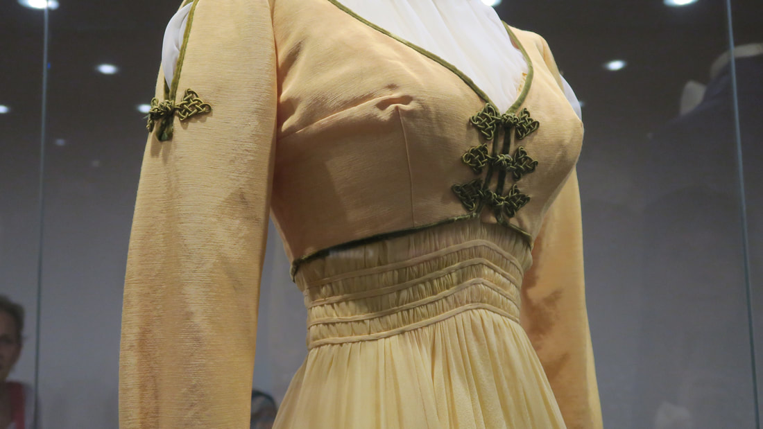 Costume detail Inger Stevens The Buccaneer