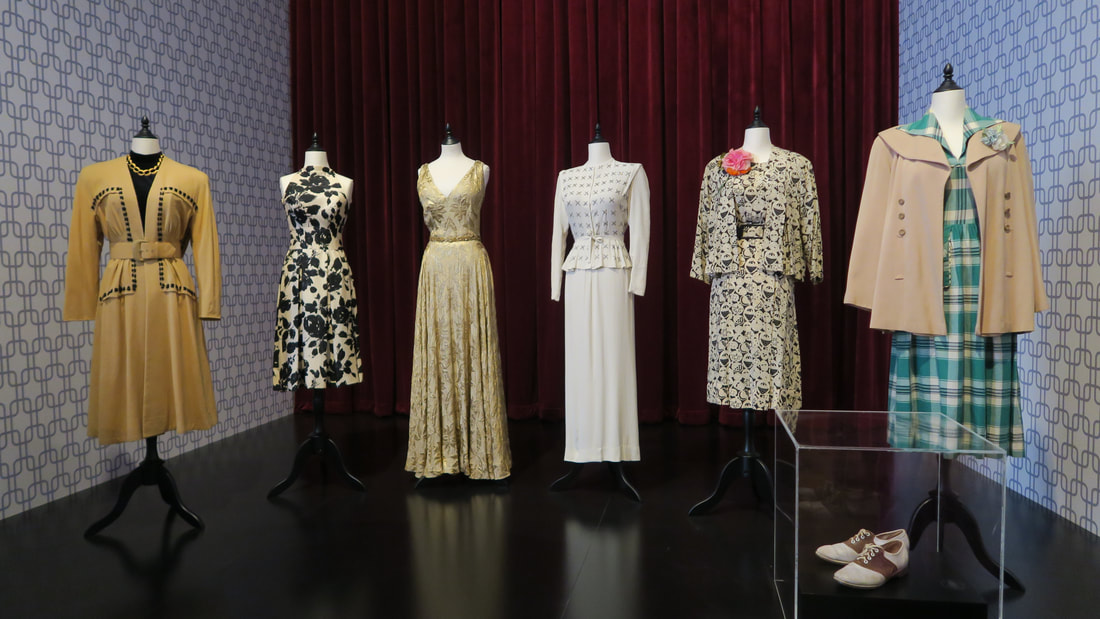 Costumes by Edith Head at Bendigo Art Gallery
