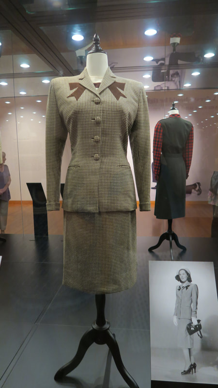 Suit for Maureen O'Sullivan by Edith Head